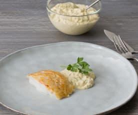 Bacalao con salsa tártara (HESTAN CUE)