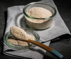 Rye sourdough starter powder