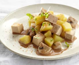 Tofu-Kartoffel-Topf