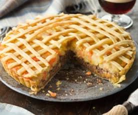 Haggis Neep and Tattie Pie