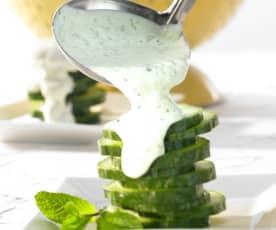 Joghurt-Minz-Dressing