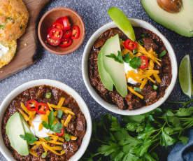 Keto Beef Chili