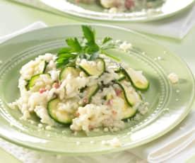 Risotto mit Zucchini