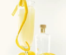 Champagner-Zitronen-Slush