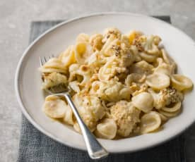 Roasted Cauliflower and Hazelnut Orecchiette - Orecchiette con cavolfiore arrosto e nocciola