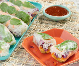 Hawaiian Summer Rolls
