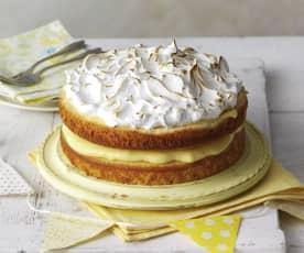 Tort cytrynowy z bezą