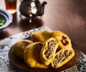 Gefüllte marokkanische Brote