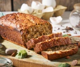 Zucchini and Almond Pulp Bread