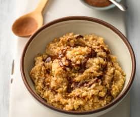 Porridge ai 5 semi, cannella e cardamomo