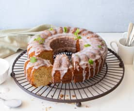 Gin and tonic drizzle cake
