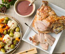 Paletilla de cerdo asada (Meater®)