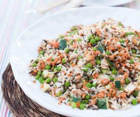 Insalata di riso selvaggio