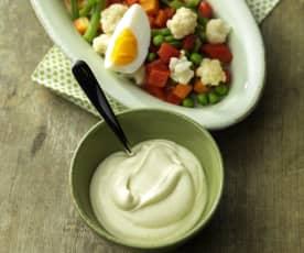 Egg-free mayonnaise