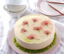 櫻花乳酪幕斯