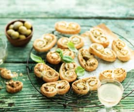 Feuilletés aux olives