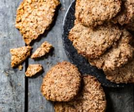 Biscuits croustillants aux noisettes