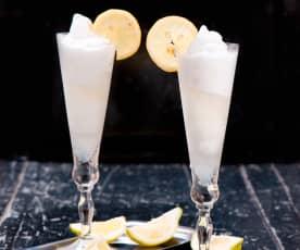 Sorbet cytrynowy z szampanem