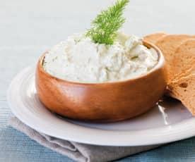 Käse-Dill-Aufstrich