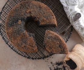 減醣黑芝麻戚風蛋糕