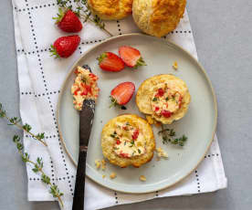 Strawberry and thyme butter