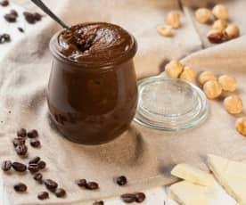 Crema al cioccolato bianco e caffè