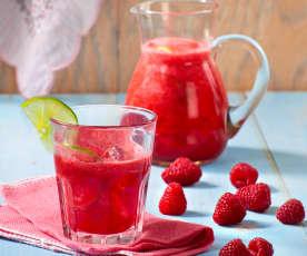 Himbeer-Limetten-Drink