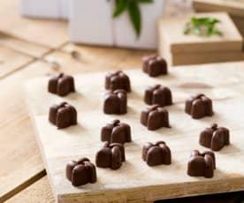 Chocolate hazelnut kisses
