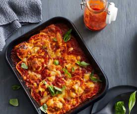 Tomatensauce für Tortellini-Auflauf