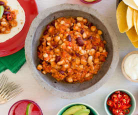Wegańskie chili