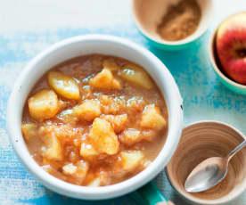 Compote de pommes épicée