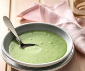 Crema di riso alle foglie verdi (6-7 mesi)