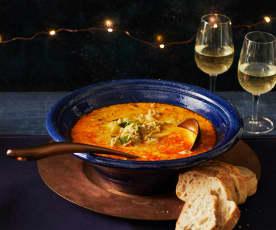 Mett-Porree-Suppe