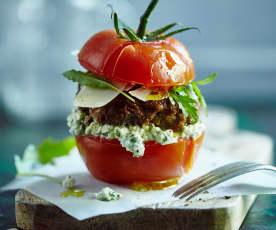 Tomaten-Burger