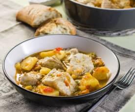 Tuna stew with potatoes
