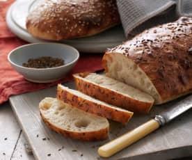 Zeytinyağlı Ekmek