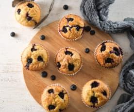 脆皮藍莓瑪芬