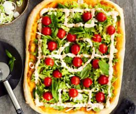 Fußball-Pizza