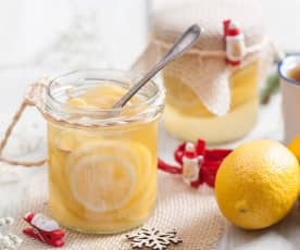 Cytryny w syropie imbirowym