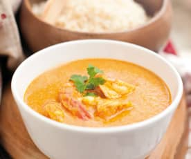 Curry de gambas