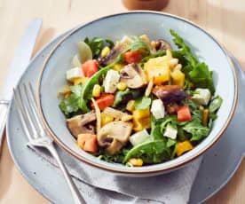 Champignon-Rucola-Salat