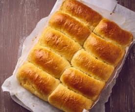 Parker rolls (Brioche allo yogurt)