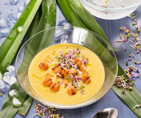 Vichysoisse de maíz Thai