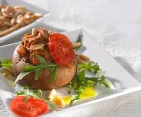 Champignonköpfe à la Provence