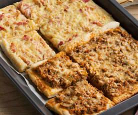 Pizza 2 sabores