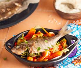 Thieboudienne de poisson