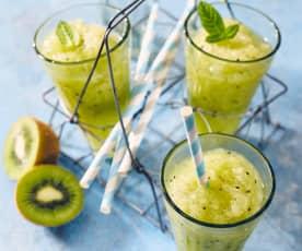 Melonen-Kiwi-Slush