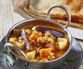 Sambhar (Vegetable Dhall)