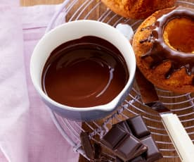 Schokolade schmelzen (im Varoma)
