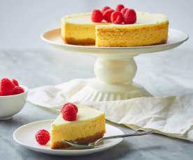 New York cheesecake allo skyr (senza glutine)